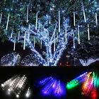 30/50cm 8 Tubes LED Meteor Shower Rain Tree Lights Outdoor String Gardon X'mas