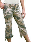 Girls Camo Capri Pants in Sizes 10-12-14-16 NWT By ROTHCO
