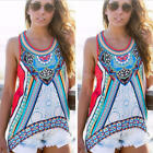 Plus Size Womens Vest Top Sleeveless Shirt Blouse Summer Casual Hollow Loose Top