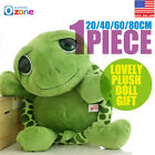20cm/40cm/60cm/80cm Tortoise Turtle Giant Stuffed Animals Lovely Doll Plush Soft