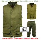 Men's Derby Game Tweed Gilet or Breeks / Plus Fours. Shooting, Hunting, Beaters