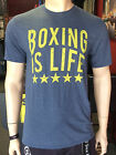 Boxing is Life Shirt (Blue)