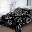 Blake Printed duvet cover set bedding double super king single poly cotton Gift