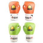 1Pair Child Kids PU Leather Boxing Gloves Pad for Training Punching Competition