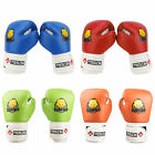 Child Kid PU Leather Boxing Gloves Pad for Training Punching Competition Cartoon