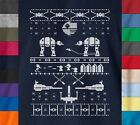 Star Wars UGLY CHRISTMAS SWEATER Shirt 100% Ringspun Cotton Gift Hoth Battle Tee