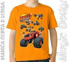 BLAZE E LE MEGA MACCHINE AND THE MONSTER MACHINES TOYS T-SHIRT MAGLIETTA GIOCO