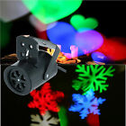 4W RGBW Mini LED Stage Light Projector with 4 Random Pattern Lens for Xmas