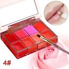 8 Colour Wip Gloss Palette Makeup Wet Cosmetic Wipstick Beauty Case Wipgloss W*1