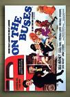 ON THE BUSES FRAMED CANVAS POSTER SIZE A1 A2 A3 A4 HAMMER BLAKEY SITCOM COMEDY