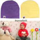 1Pcs Pure Cotton Turtleneck Knit Cap NewBorn Baby Boy Girl Soft Toddler Infant