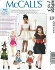 McCall's 261 / 7453 Girls' Costumes    Sewing Pattern