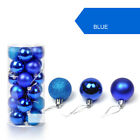 30mm Christmas Tree Ball Bauble Hanging Xmas Home Party Ornament Decor Decal Hot