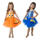 Rubies Disney Girls Finding Dory Or Nemo Tutu Childs Fancy Dress Costume Outfit