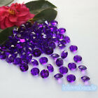 10mm 4CT Purple Acrylic Diamond Confetti Wedding Party Table Scatters Vase Decor