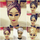 Lady Turban Hair-Style Indian Style Bandana Chemo Head Cover Hat Yoga Sport Cap