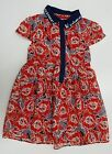 KIDS/GIRLS FRENCH CONNECTION FLORAL DRESS IN RIOT RED 'FNC0007' *FROM £35 - £25*