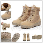 Men's Tactical Military Combat Patrol Boots Desert Army Security Hiking Shoes
