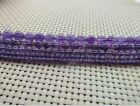 Natural Round Dream Lace Amethyst Jewelry Making loose gemstone beads strand 15