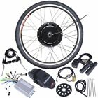 "26"" Front/Rear Wheel Electric Bicycle Motor Kit E-Bike Cycling Hub Conversion"