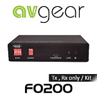 NEW AVGear AVG-FO200 HDMI Optical Fibre Extender (1km) from AV Australia Online