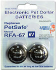 RFA-67 Replacement Batteries for PetSafe Wireless Dog Fence Collar PIF-275