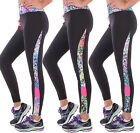 Damen Sporthose Yoga Pants Stretch Fitness Laufhose Leggings Jogginghose ★A3011