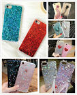 Bling Lovely Glitter Sparkle Silicone Rubber Soft Case Cover Skin For iPhone