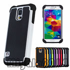 One Heavy Duty Shockproof Dirt Proof Hard Case Cover For Samsung Galaxy S5 i9600