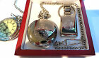 Royal Engineers Engraved Personalised Pocket Watch and Keyring LUXURY Gift Set