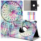"""360° Rotating Leather Wallet Stand Case Cover for Amazon Kindle Fire 7"""" 5th 2015"""