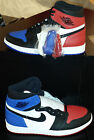 "NEW AUTHENTIC NIKE AIR JORDAN 1 RETRO HIGH  ""TOP 3"" US 14"