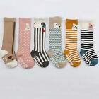 Cartoon Animal Baby Sock Boys Girls Knee High Socks Toddler Terry Sock 1 Pair