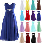 Short Formal Chiffon Bridesmaid Cocktail Dresses Wedding Evening Party Prom Gown