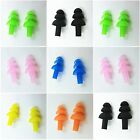 SOFT POLYURETHANE EAR PLUGS REUSABLE SLEEP SWIMMING WORK NOISE REDUCTION NEW