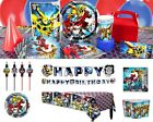 Transformers Birthday Party Supplies Decorations Tableware