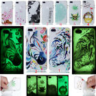 New Clear Glow TPU Rubber Silicone Luminous Case Cover For iPhone Samsung Huawei