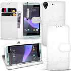 For HTC Desire 650 626 - Wallet Leather Case Flip Cover +  Screen Protector