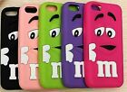 PB3 Cute 3D M&M Chocolate Iphone 4S Novelty H/Duty Quality soft Silicone Case