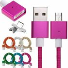 Lot 2 Micro USB Charging Cable Magnetic Adapter Charger for Samsung Android LG