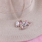 New Brand Women Opal Crystal Charm Pendant Long Chain Necklace JKewelry Gift JK