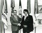 President Richard Nixon meets Elvis Presley White House Photo Photograph Picture