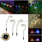 10Pcs Solar Power LED  Lawn Lamp Light Yard Path Light Spot Lamp Outdoor Garden