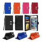 Leather Wallet Flip Case Stand w/ Card Holder For Apple iPhone 7 / iPhone 7 Plus