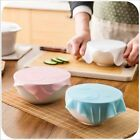 Bowl Multifunctional Lid Food Reusable Silicone Plastic Wrap Sealing Cover
