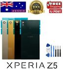 Sony Xperia Z5 E6603 E6653 Back Rear Glass Housing Battery Cover Case + Tools