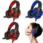 USB 3.5mm Surround Stereo Gaming Headset Headband Headphone with Mic for PC LOT