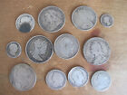 GB PRE 1920 SILVER COIN COLLECTION 99G GROUP OF 12 COINS