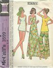 McCall's 3599 Misses' Dress, Top, Pants or Shorts Size 16  Sewing Pattern