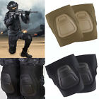 Military Airsoft Tactical Hunting Game Combat Protective Set Gear Knee Pad Guard